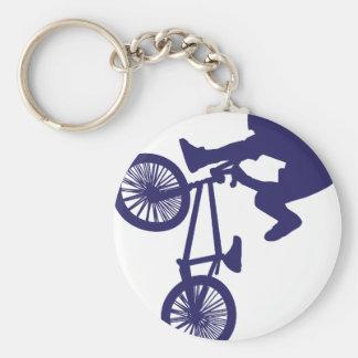 BMX Radfahrer Schlüsselanhänger