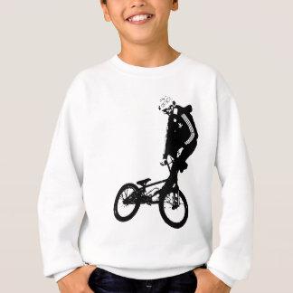 BMX Reiter-Grafik im ROT Sweatshirt