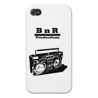 BnR Schablone Ghettoblaster iPhone 4 Schutzhülle