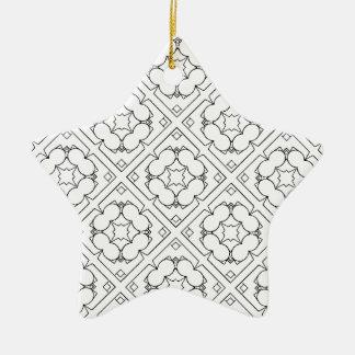 B'n'W1 Keramik Ornament