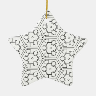 B'n'W3 Keramik Ornament