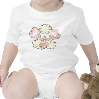 BO der Lamm-Baby-Strampler