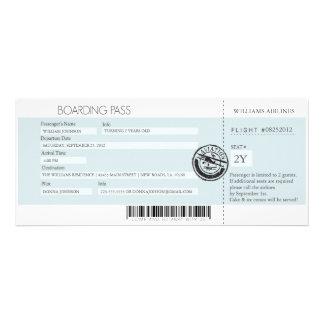 Boarding-Durchlauf (heutiger bester Preis) Ankündigungskarte