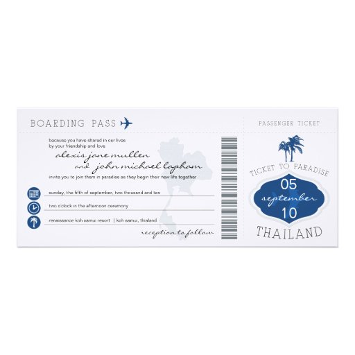 Boarding-Durchlauf zur Personalisierte Einladungen