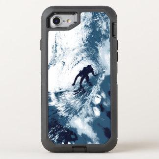 Boarding Trybe Rohr, hawaiische Brandungs-Grafik OtterBox Defender iPhone 8/7 Hülle