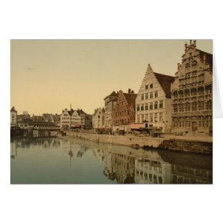 Boathouse in Gent, Belgien Karte