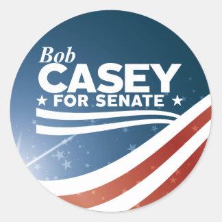 Bob Casey für Senat Runder Aufkleber