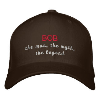 Bob die Legende Bestickte Baseballkappe