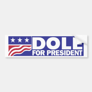 Bob Dole 1996 für Präsidenten Autoaufkleber