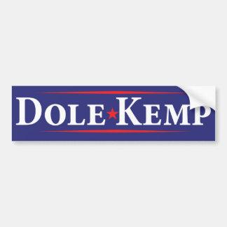 Bob- DoleJack-Kemp-Wahl-Autoaufkleber 1996 Autoaufkleber