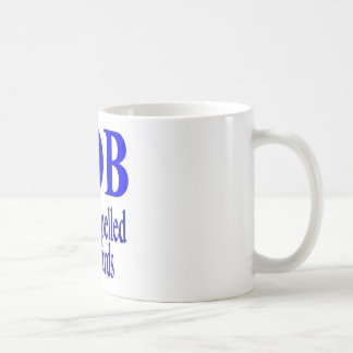 Bob ist Bob rückwärts Kaffeetasse