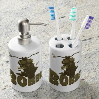 Bobber-Fahrrad Zahnbürstenbehälter