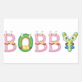 Bobby-Aufkleber Rechteckiger Aufkleber