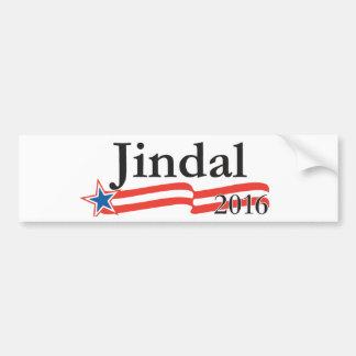 Bobby Jindal für Präsidenten 2016 Autoaufkleber