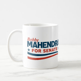 Bobby Mahendra für Senat Kaffeetasse