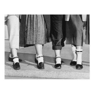 Bobby Socks, 1953 Postkarte