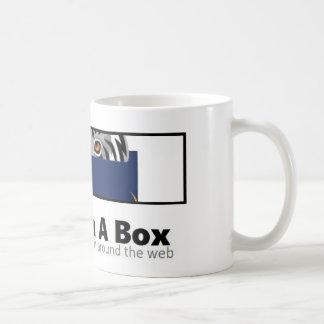 Bobcat in einer Kasten-Tasse Kaffeetasse
