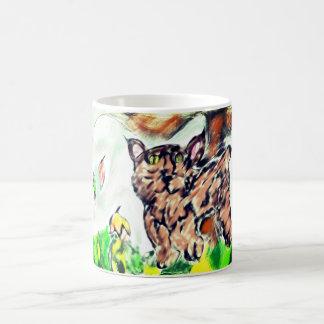 Bobkatzenkunst Kaffeetasse