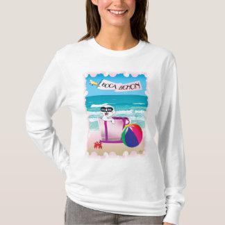 Boca Bichon: Der Sleeved T - Shirt der Frauen