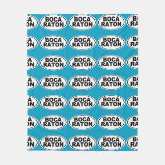 Boca Raton Florida Fleecedecke