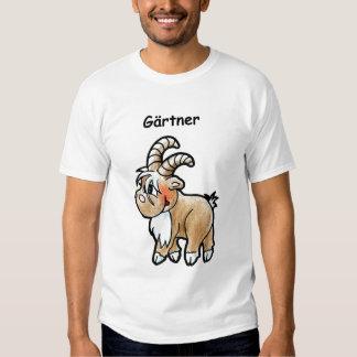 Bock zum Gärtner machen Hemd
