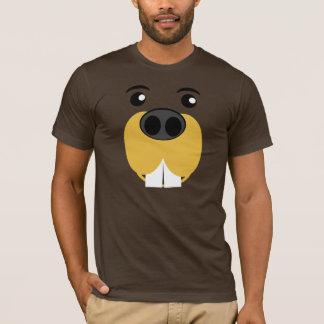 Bockiges Biber-Gesicht T-Shirt