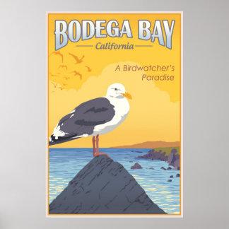 Bodega-Bucht Kalifornien Poster