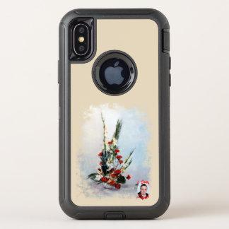 Bodegón der Blumen/Still life of flowers OtterBox Defender iPhone X Hülle