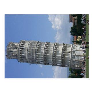 Boden lehnt twr Pisa Postkarte