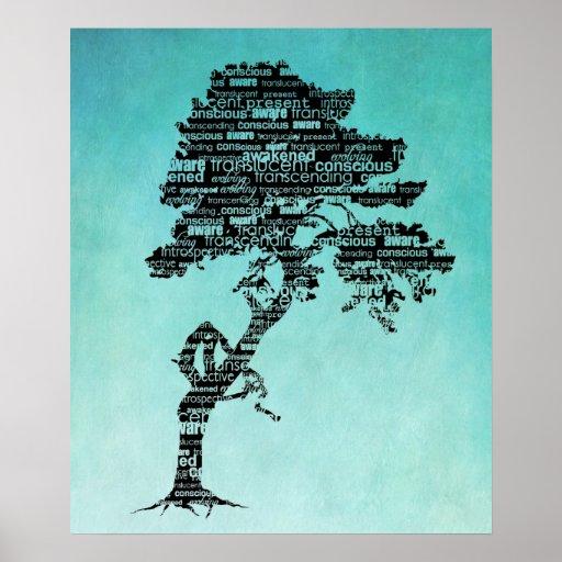 Bodhi Baum-Plakat/Druck