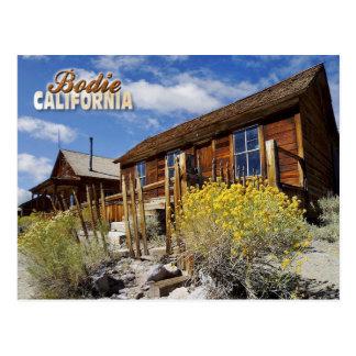 Bodie-Geisterstadt, Kalifornien Postkarte