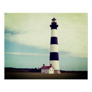 Bodie-Insel-Leuchtturm Poster