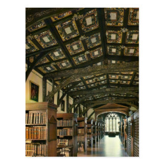 Bodlein Bibliothek Universität von Oxford Englan Postkarten