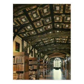 Bodlein Bibliothek, Universität von Oxford, Postkarte