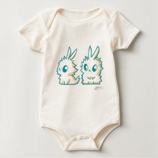 Body die kleinen Kaninchen Baby Strampler