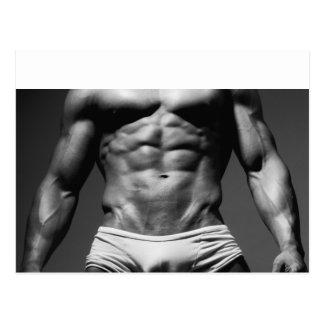 Bodybuilder-Postkarte - #123 Postkarte