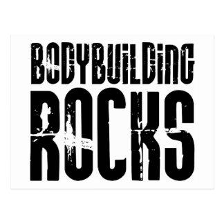Bodybuildings-Felsen Postkarte