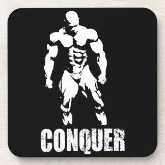 Bodybuildings-Motivation Getränkeuntersetzer