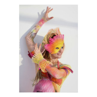 Bodypainting BTEXX Poster