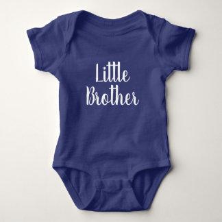 Bodysuitgeschenk des blauen Babys des kleinen Baby Strampler