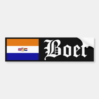 Boer Autoaufkleber