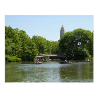 Bogen-Brücken-Central Park-Manhattan-Postkarte NYC Postkarte