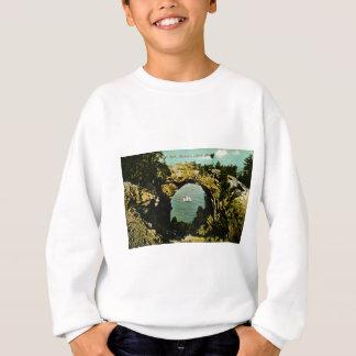 Bogen-Felsen Mackinac Insel, Michigan 1911 Sweatshirt