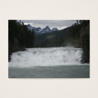 Bogen-Fluss-Künstler-Trading Card Visitenkarte
