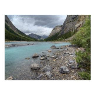 Bogen-Fluss Postkarte