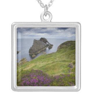 Bogen-Geigen-Felsen, Portknockie, Schottland Versilberte Kette