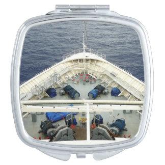 Bogen-Geschäfts-Marineausrüstung Taschenspiegel