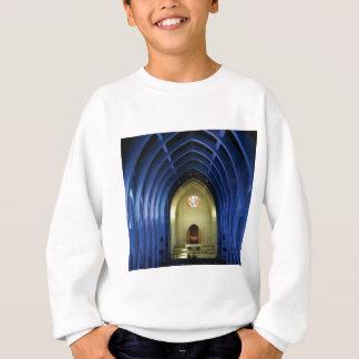 Bögen in der blauen Kirche Sweatshirt
