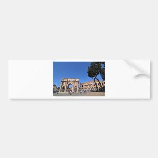 Bogen in Rom, Italien Autoaufkleber