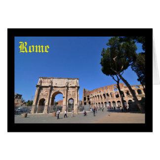 Bogen in Rom, Italien Karte